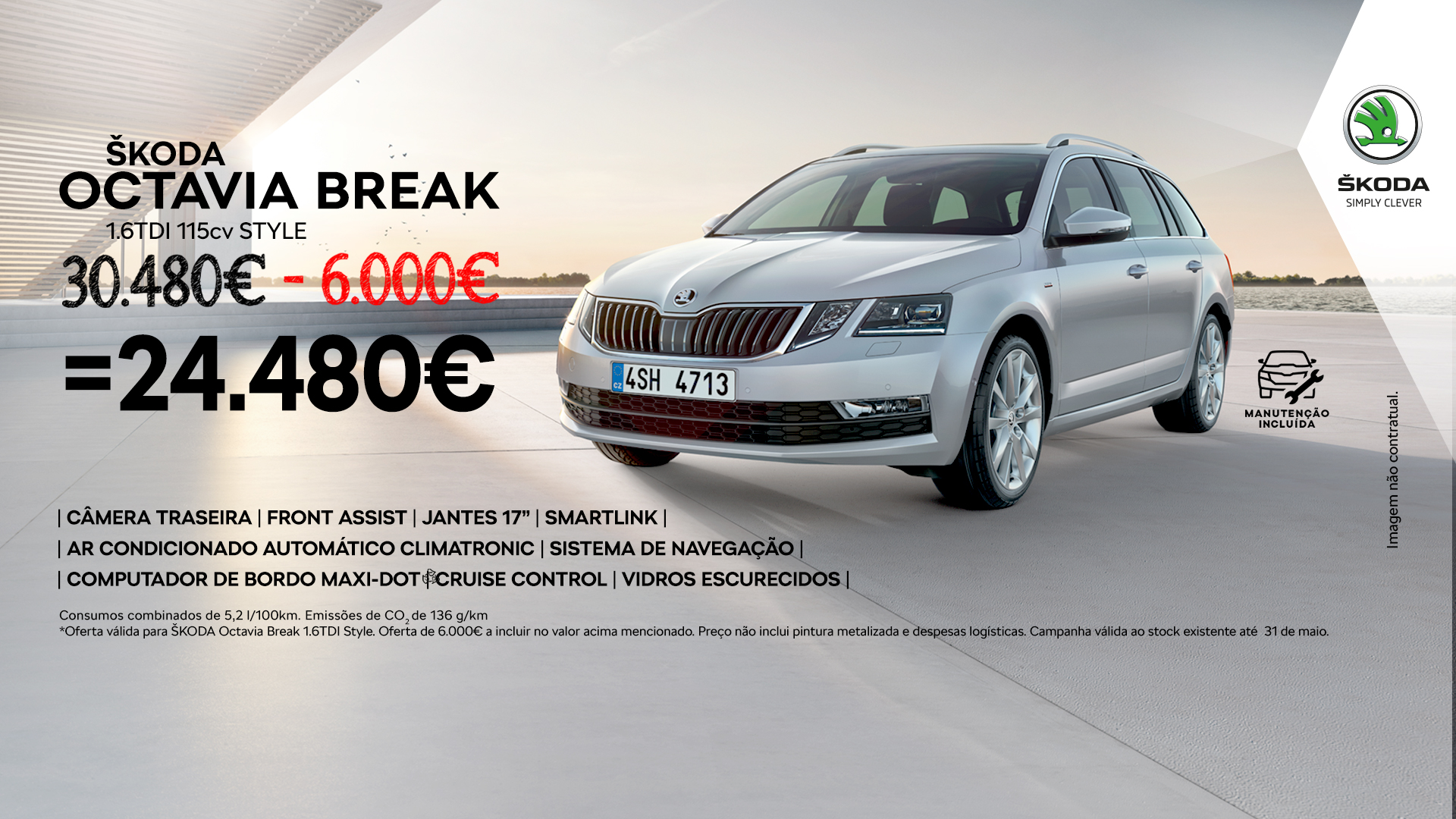 Oferta 6.000€ ŠKODA Octavia Break
